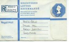 "GB - REGISTERED ENVELOPE - SIZE G - £1.16 - IPSWICH ""A"" - 466623"