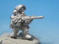 Warhammer 40K Rogue Trader Vintage Metal 1987 OOP Imperial Guard Squat Trooper 1