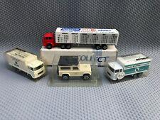 Majorette Promo Lot inc Staffs Ranger Land Rover, Barrats & Loveday Trucks