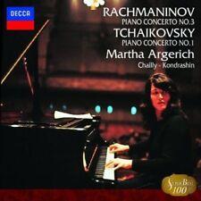MARTHA ARGERICH-RACHMANINOV: PIANO CONCERTO NO.3. TCHAIKOVSKY...-JAPAN CD B50