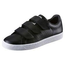 PUMA Basket Classic Strap Black and White Sneaker Sport Classics Schuhe Männer