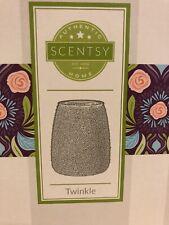 Bnib Scentsy warmer full size Twinkle wax melts silver glitter