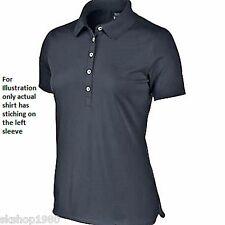 Nike Women's Victory Short Sleeve Golf Polo Appleton Estate stitched on sleeve!
