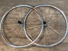 Mavic Aksium Rennen Rennrad Radsatz 700c Trumpf 8-11 Speed Shimano Silber