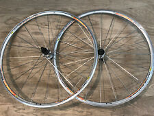 Mavic Aksium Race Road Bike Wheelset 700c Clincher 8-11 Speed Shimano Silver