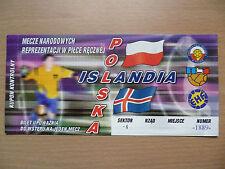 P Football International Fixture Tickets & Stubs