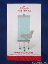 2014 Hallmark Keepsake Christmas Ornament You're Amazing Girl Butterfly QGO1363