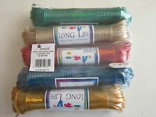 STRONG LONG LIFE STEEL CORE 10/15/20/25/30M CLOTHES WASHING LINE