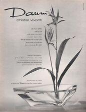 ▬► PUBLICITE ADVERTISING AD DAUM Cristal style dru