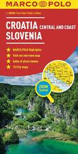 CROAZIA COSTA, SLOVENIA CARTINA STRADALE [SCALA 1:300.000] [MAPPA] MARCO POLO