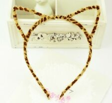 LEOPARD PRINT CAT EARS HEADBAND CAT EAR KAWAII HEAD BAND