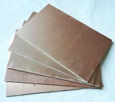 5pcs Double Sided Fr4 Copper Sheet Plate Laminate Board Copper Clad Pcb 10x15cm