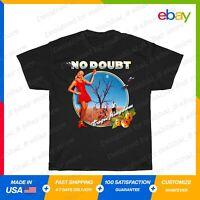 Gwen NO DOUB Tra Kingdom Stefani gic T-Shirt Black S-5XL