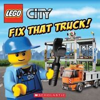 Lego City: Fix That Truck! by Scholastic, Inc, Acceptable Used Book (Paperback)