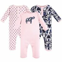Yoga Sprout Girl Baby Union Suit/Coverall, Ikat Elephant