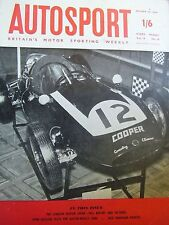 Autosport October 30th 1959 *new Lotus Factory & Austin Healey 3000 Test*