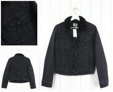 Cappotti e giacche da donna grigi cotone bottone