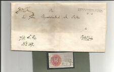 Preussen V. / BENNECKENSTEIN L2 auf Pracht-Brief + Ra2 auf Kabinett-Briefstück