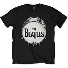 Licencia oficial-los Beatles-piel Tambor Original Camiseta Lennon Mccartney