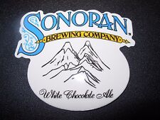 SONORAN BREWING COMPANY White Chocolate Ale STICKER decal craft beer brewery