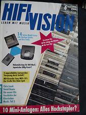 Hi-Fi Vision 6/93 JM LAB 908 avec DLP, Audio Physic Step, ISOPHON ODEON, Piega 5.2