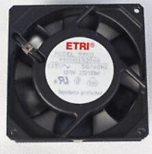 ETRI 99XU 2182 / Rosenberg / Ecofit. AC Fan Salt Fog Axial Ball Bearing 208-240v