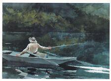 Winslow Homer Casting Number 2 Postcard used VGC
