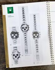 Rolex 1985 1986 catalogo ufficiale Dealer's 5513 16800 1019 16550 1016 6263 6265