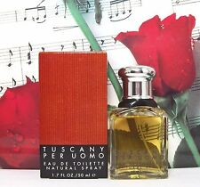 Tuscany Per Uomo EDT Spray 1.7 Oz. Old Formula. Made In England