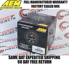 Aem X-Series Boost Pressure Display Gauge Kit 30In/Hg35Psi/1~2.5Bar 30-0306