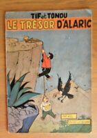 """E.O. TIF et TONDU N°1 """"Le trésor d'Alaric"""" 1954 par WILL"""