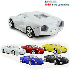 2.4Ghz Wireless USB mouse car Shape Optical Laptop PC MAC Gaming Mice Light Gift