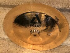 "Paiste 18"" Alpha Brilliant China Cymbal, Lightly Used"