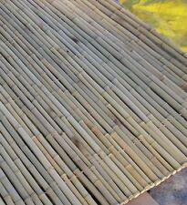 Bambuszaun 180 x 250cm 24/26mm Bambusrollzaun Bambusmatte Sichtschutz Windschutz
