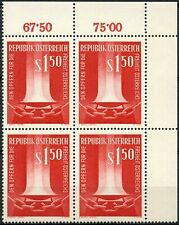 Austria 1961 SG#1362 Freedom Martyrs MNH Block #D90076
