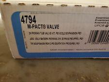 Moen 4794 1/2 Inch PEX Roman Tub Rough-In Valve