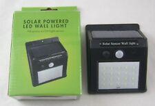 Solaire Capteur de mouvement lumière alimenté DEL Wall Light PIR Projecteur Nuit Home surpasser