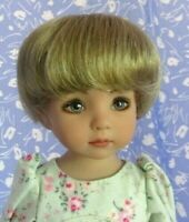Monique Bebe   Blond Full Adj. Cap Doll Wig Size 7-8 Little Darling Short Bob