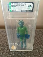 VINTAGE STAR WARS-1978-GREEDO-SEARS CATALOG-KENNER BAGGIE-SW C-TYPE-AFA U85