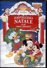 FAVOLOSO NATALE con gli amici Disney - DVD, NUOVO SIGILLATO, OLOGRAMMA SUL DORSO
