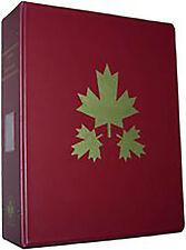 U. Harris Canada Stamp Album-B&W-New-1851-2015-2 Vol w/binders-Complete w/provs