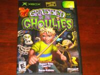 Grabbed By The Ghoulies - Original XBOX Game Complete!