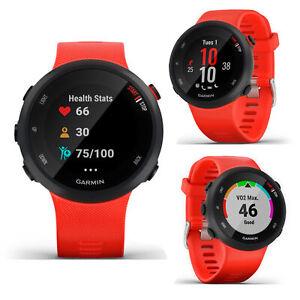 Garmin FR Forerunner 45 Red Smart GPS HRM Sports Running Cycle Multisport Watch