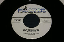 hector records H 727 45 VINYL DOIN THE NEW LOW DOWN/AIN'T MISBEHAVING VG VG+ OOP