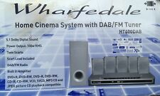 Wharfedale HT400DAHome Cinema System With DAB/FM Tuner Speakers 5.1 100W RMS