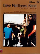 DAVE MATTHEWS BAND - BEST OF FOR EASY GUITAR - GUITAR TABLATURE