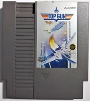 Top Gun Nintendo NES Video Game Tested Konami Japan
