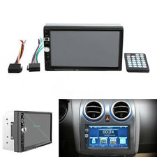 7''HD 2Din Touch Screen Car Stereo Radio Bluetooth MP5/MP3 Player FM USB AUX Kit