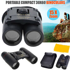 Foldable Roof Prism Day And Night Vision 30 x 60 ZOOM Mini Compact Binoculars UK