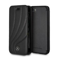 "Custodia Mercedes-Benz Organic Line II vera pelle per Apple iPhone 6 6s 7 8 4.7"""